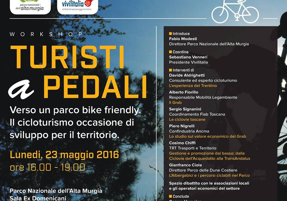 L'Alta Murgia verso un Parco bike friendly