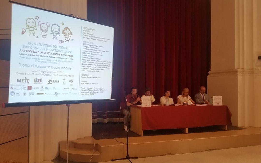 Uniti contro lo sfruttamento sessuale minorile nel turismo, l'EBNT passa all'azione