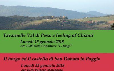 Presentazione Itinerari Tavarnelle Val di Pesa – Formazione Turistica
