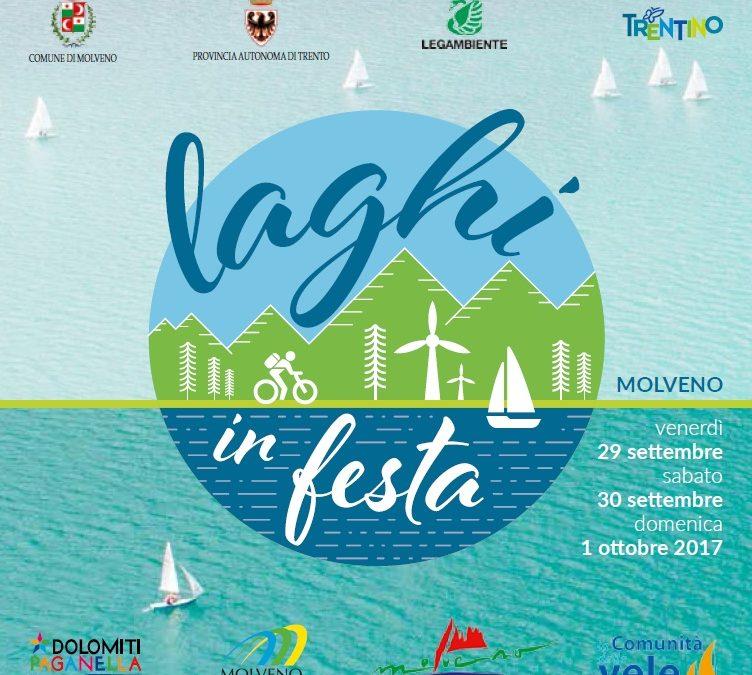 """""""Laghi in Festa"""", a Molveno il prossimo 29 settembre"""